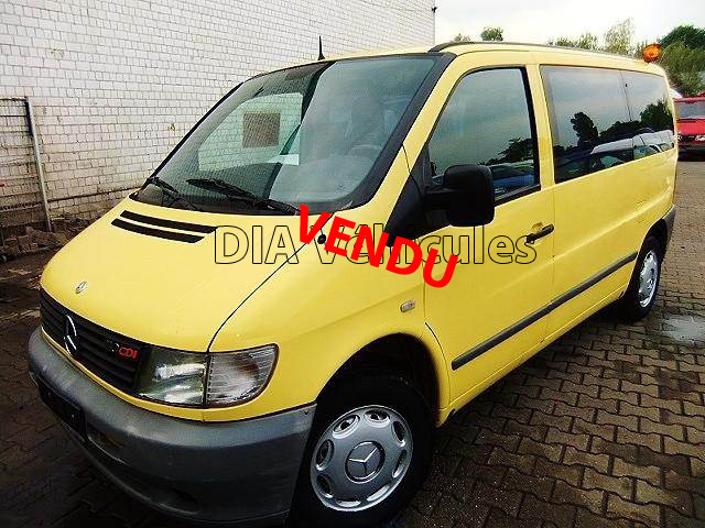 mercedes benz vito 110 cdi voiture ambulance dia business. Black Bedroom Furniture Sets. Home Design Ideas